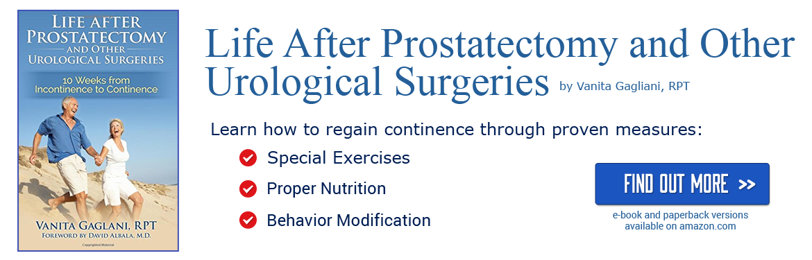 Life after prostatectomy book